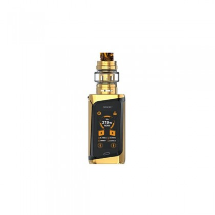 kit smoktech morph et reservoir TF Tank inclus couleur black gold