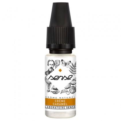 e-liquide phodé crème caramel de la marque Sense arôme naturel flacon de 10 ml