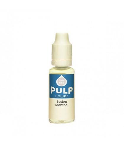 e-liquide BOSTON MENTHOL en 0, 3, 6, 12 ou 18mg de la marque Pulp