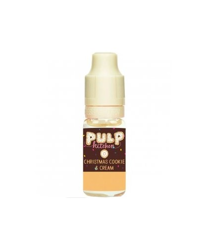 e-liquide christmas cookie and cream en 0, 3, 6, 12, ou 18 mg/ml de la marque Pulp