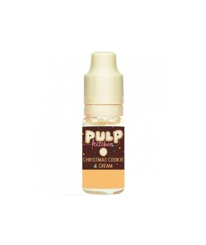 e-liquide christmas cookie and cream en 0, 3, 6, 12, ou 18 mg/ml de la marque Pulp