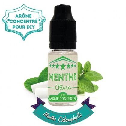 arôme concentré menthe chlorophylle de la marque VDLV (Vincent dans les Vapes ) 10 ml