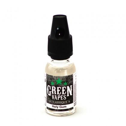e-liquide holy gum de la gamme fraîcheur All green menthe de chez Green Liquide