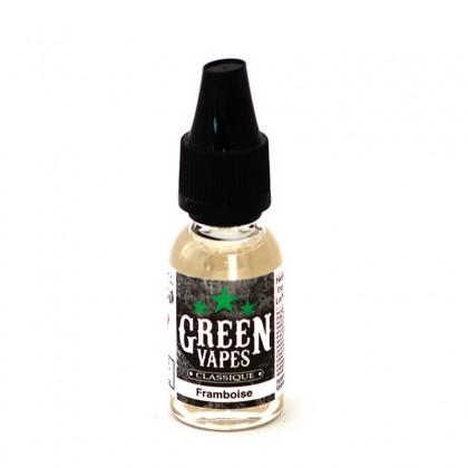 e-liquide framboise de la gamme classique et fruitée Green Liquide