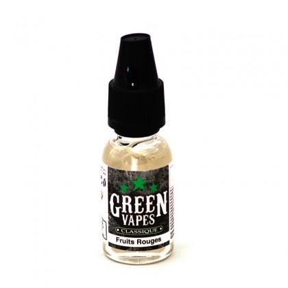 e-liquide fruits rouges de la gamme classique et fruitée Green Liquide
