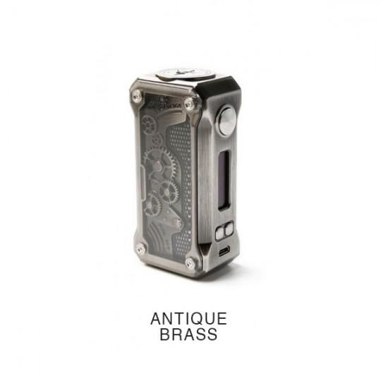 Box Punk 85 watts de la marque Tesla coloris antique brass