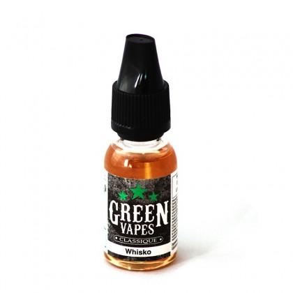 e-liquide whisko de la gamme classique Green Liquide