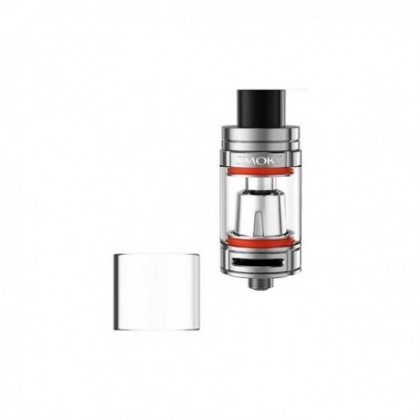 Pyrex de remplacement TFV8 BABY 2ml et 3ml pour cigarette électronique Smoktech